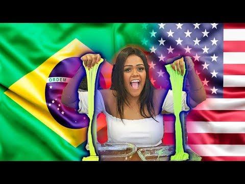 SLIME AMERICANA X BRASILEIRA !!!