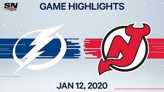 NHL Highlights   Lightning vs. Devils – Jan. 12, 2020