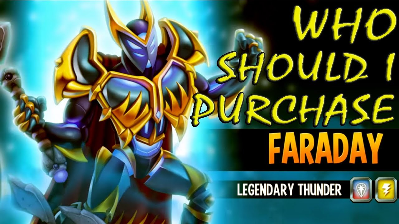 Faraday the Electrolyzer | Monster Legends Wiki