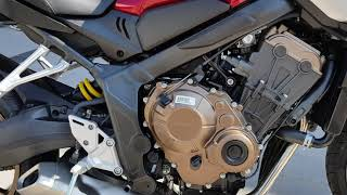 2019 all NEW cb650r review exhaust sound