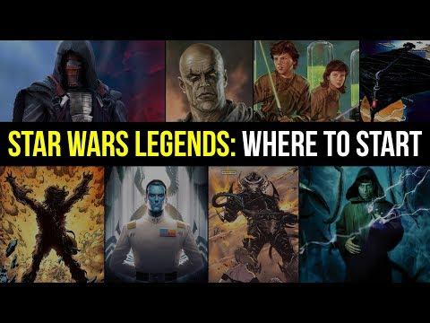MUST READ Star Wars Legends Books, And Where To Start | Star Wars EU Reading Guide