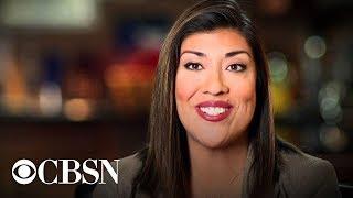 Lucy Flores: Joe Biden accuser speaks on CBSN, live stream