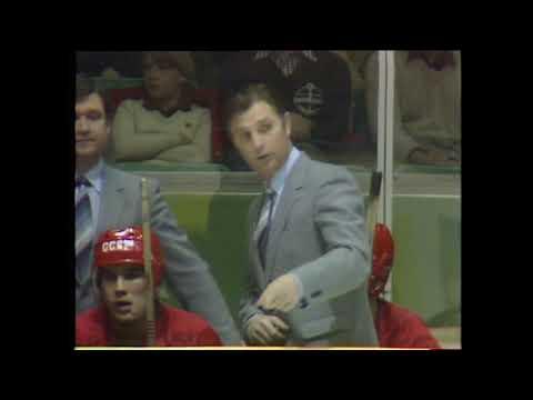 VM I Ishockey 1981 Sverige-Sovjet
