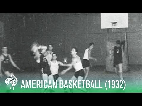 basketball-aces:-american-players-train-on-the-court-(1932)- -sports-history