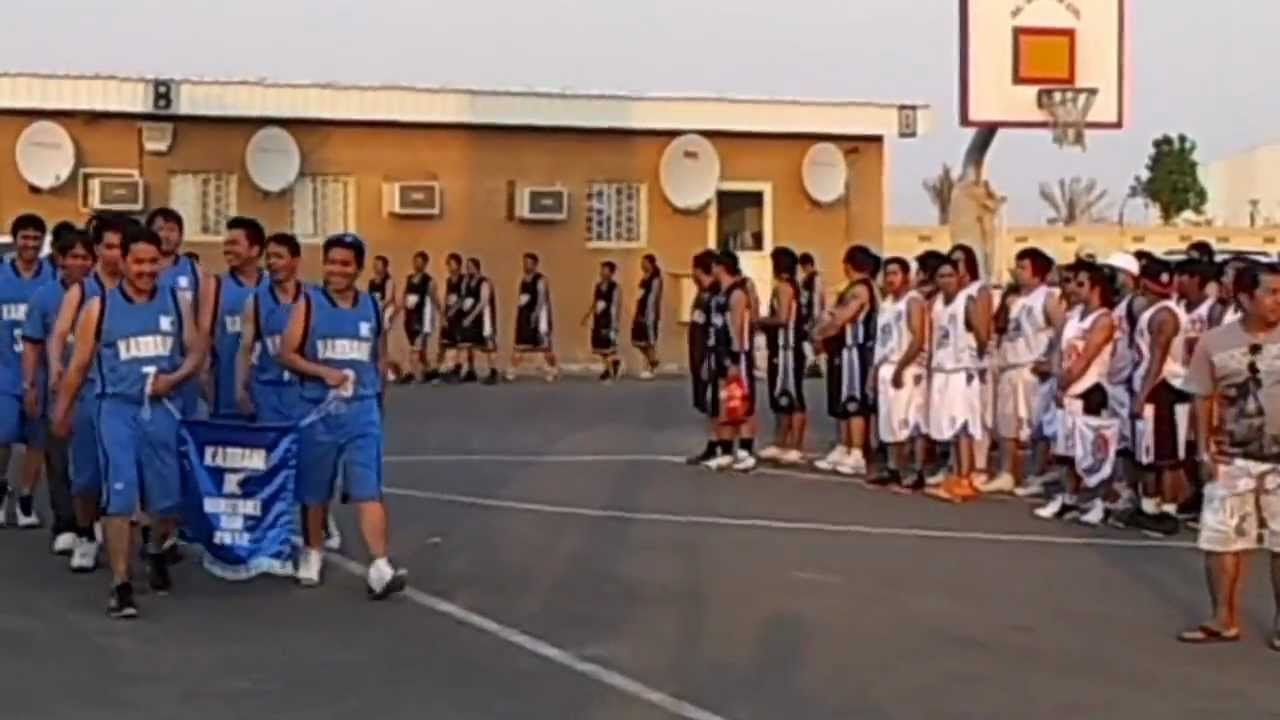 Opening Of The 6th Season Abqaiq Inter Company Basketball At Ksa