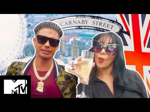 The Jersey Shore Cast Take The London Tour | Jersey Shore Family Vacation