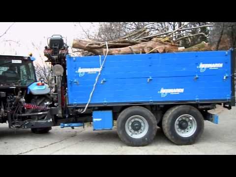 B140 in bosco rimorchio forestale funnydog tv for Bernabei rimorchi