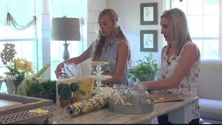 Lemon Themed Summer Entertaining w/ Studio 7