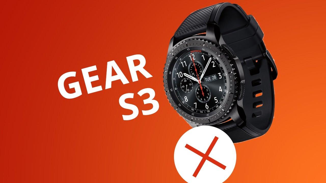 5640e1b2118a5 5 motivos para NÃO comprar o Samsung Gear S3 - YouTube