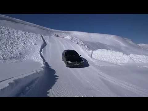 Circuit glace BMW xDrive Courchevel par Press Start Agence