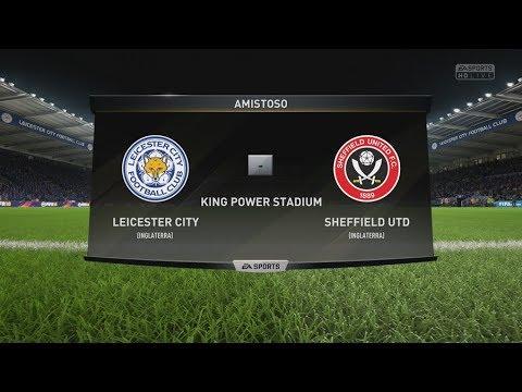FIFA 18 - Partido de la Fa Cup: Leicester City vs. Sheffield Utd - King Power Stadium