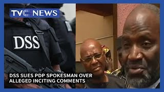 Gambar cover DSS Sues PDP Spokesman Over Alleged Inciting Comments - TVC News At 10PM
