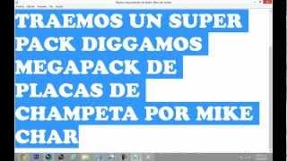 PACK DE PLACAS DE MIKE CHAR Y NOMBRES