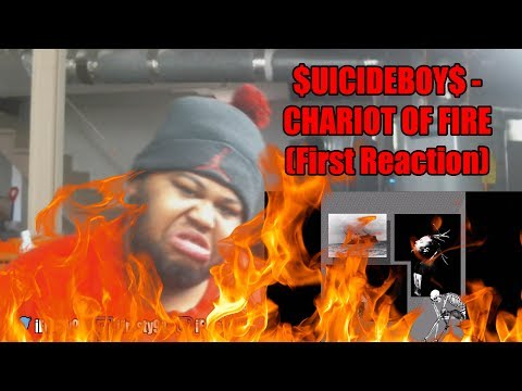 $UICIDEBOY$ - CHARIOT OF FIRE (First Reaction)