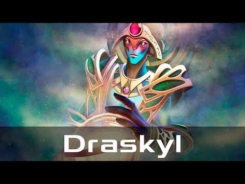 Draskyl — Oracle, Safe Lane (Jan 19, 2018) | Dota 2 patch 7.07 gameplay