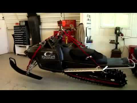 C3 Powersports Carbon Fiber Snowmobiles