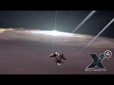 X4: DLC Сплитская месть - Хардкорный старт #4 - Верхом на Драконе