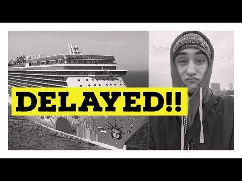Norwegian Breakaway DELAYED l Norwegian Cruise Vlog l Ep. 7