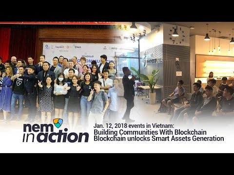 NEM in Action: Building Communities With Blockchain and Blockchain unlocks Smart Assets Generation