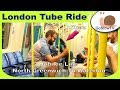 London Underground Tube Ride | North Greenwich To Waterloo | Jubilee Line | Slow TV | Episode 146