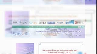 International Journal on Cryptography and Information Security  (IJCIS)