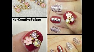 Crystal Flowers Nail Art: BPS Review + Giveaway