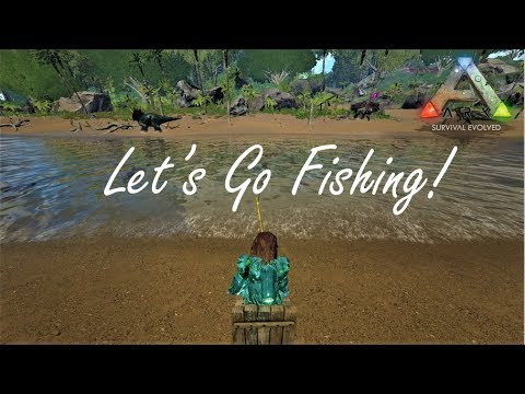 Download ark fishing made easy tutorial save time and effort get loot lets go fishing journeyman fishing rod ark survival evolved the island malvernweather Choice Image