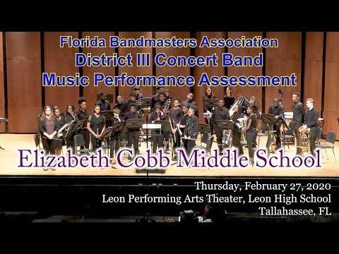 FBA District 3 Concert MPA: Elizabeth Cobb Middle School Concert Band