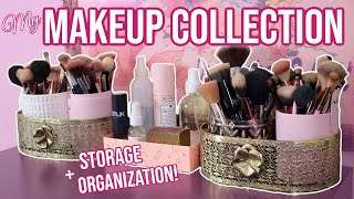 Makeup Collection Overview: How I Organize & Store My Huge Makeup Collection! | Lauren Mae Beauty