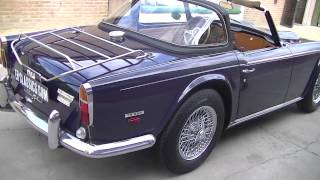 Triumph TR250 TR5 1968 Surrey  -VIDEO- www.ERclassics.com