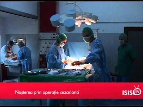 Naşterea prin operaţie cezariană • Patricia