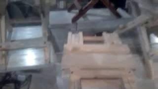 Раскладной набор табуреты и стол в процессе