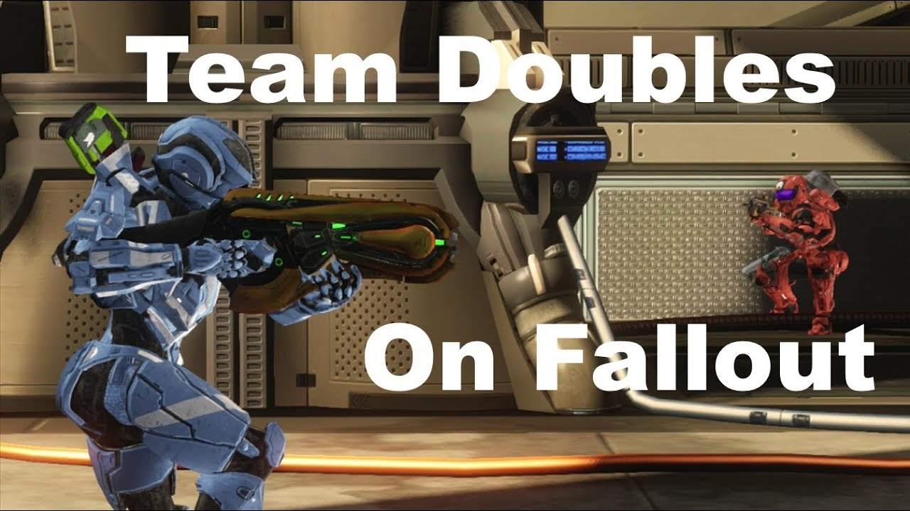 Team Doubles On Fallout New Map Halo 4 Genesis Live Gameplay