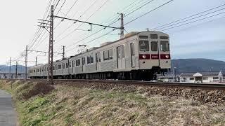 長野電鉄8500系 8502F 信濃吉田~朝陽