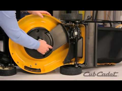 How To Replace The Drive Belt On A Cub Cadet Walk Behind Mower Model 12ae18ja010