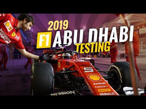 Abu Dhabi Formula 1 Post Season Testing