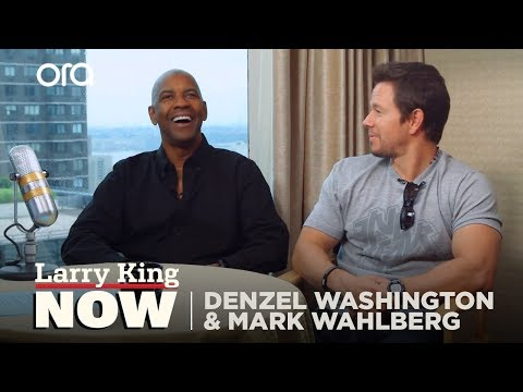 Denzel Washington and Mark Wahlberg on Working Together for the First Time   SEASON 2