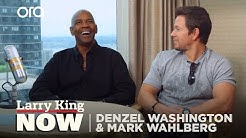 Denzel Washington and Mark Wahlberg on Working Together for the First Time | SEASON 2