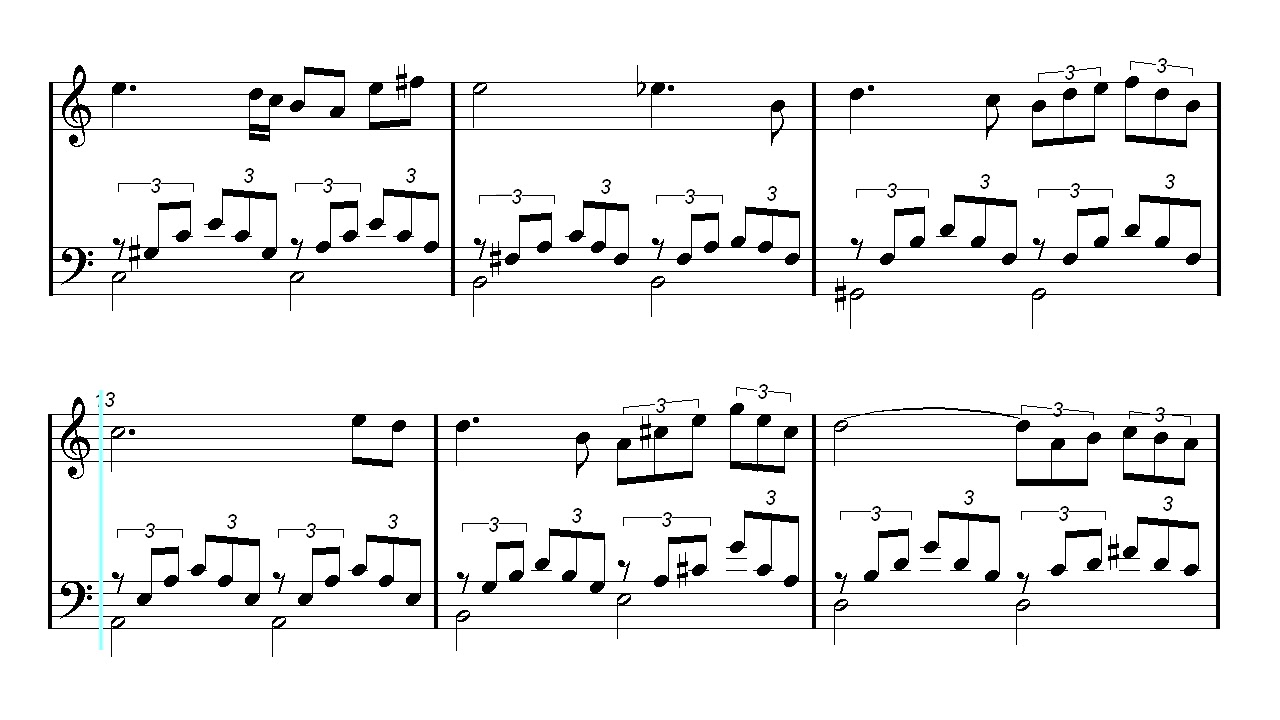 Piano Sheet Music - Ave Maria - Schubert - Christmas Song - Xmas ...
