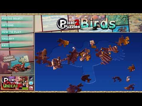 PortoHQ Gameplay #094 - Pixel Puzzles 2: Birds |