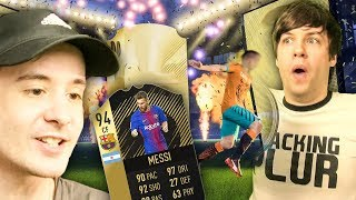 NEW MESSI IS HERE & PACKED A WALKOUT TWICE!! - FIFA 18 ULTIMATE TEAM PACK OPENING
