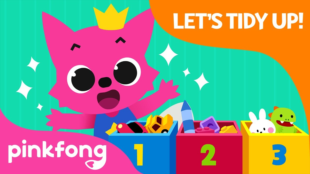 Let's Tidy Up | Clean Up Song | Good Habit Songs | Pinkfong Songs for Children