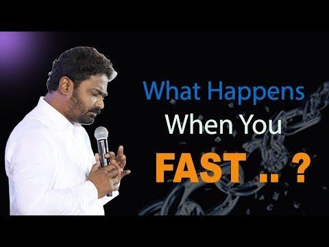 నీవు ఉపవాస ప్రార్ధనలో ఉన్నప్పుడు ఏమి జరుగుతుంది  ? || Heart Touching Message By Pastor. Praveen   ||