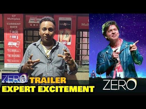 ZERO Trailer | Bobby Bhai EXPERT EXCITEMENT | Shahrukh Khan | Releasing On SRK's Birthday