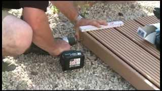 Montageanleitung von Megawood WPC-Terrassen