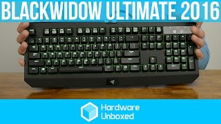 rAZER BLACKWIDOW ULTIMATE 2016 REVIEW! Is it good?