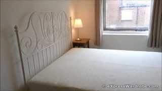 Ikea Leirvik Metal Bed Frame White Design