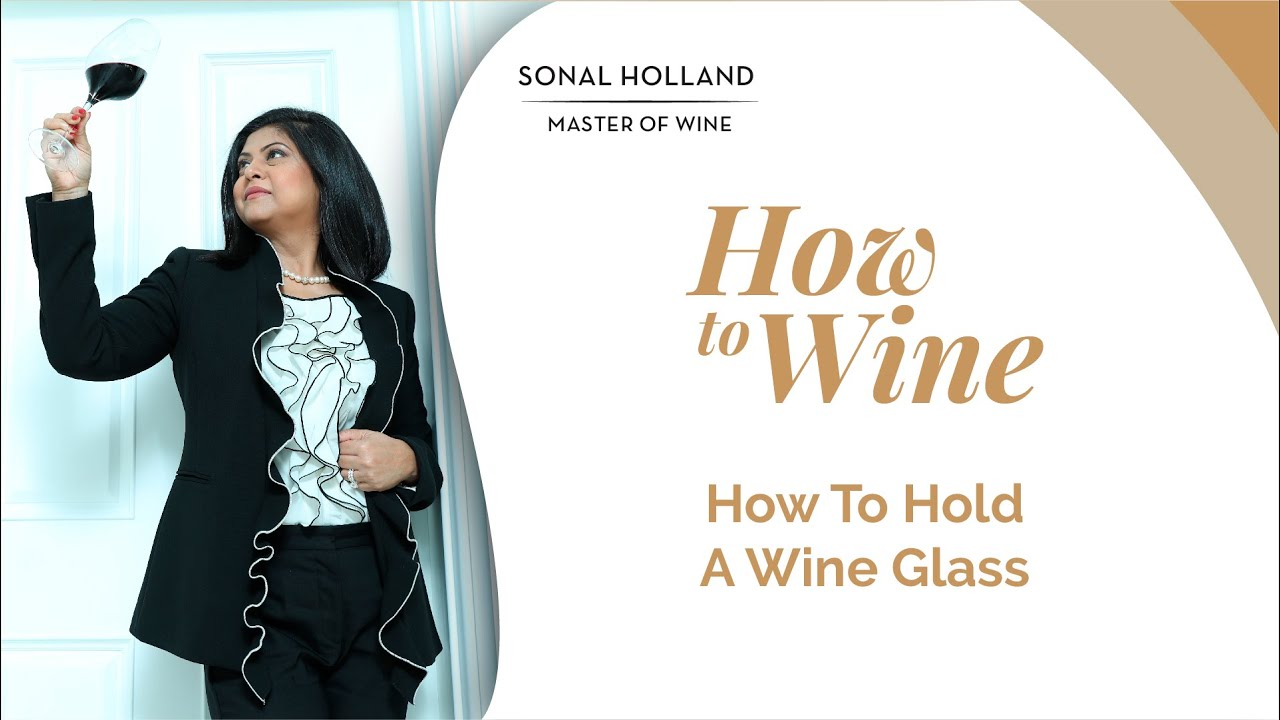 How to hold a wine glass sonal holland wine tv youtube ccuart Gallery
