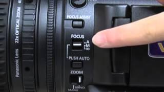 باستخدام باناسونيك AG-AC160 الكاميرا