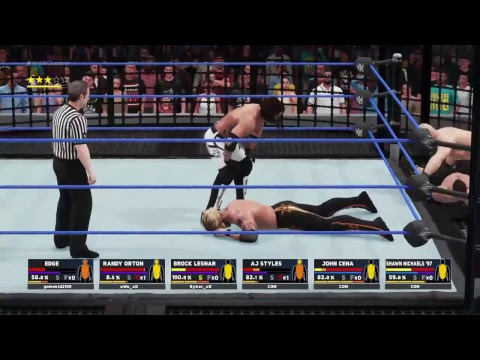 Lets play:WWE 2K18  WITH OWO and  Ryker